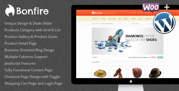 Bonfire – WordPress eCommerce Theme