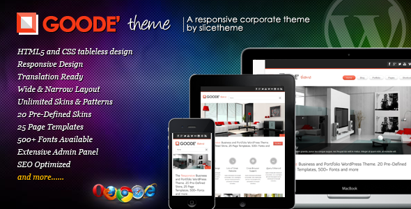Goode – Responsive Business WordPress Theme