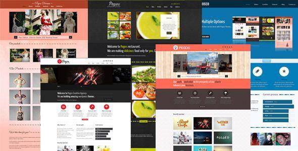 Pegos WordPress Theme