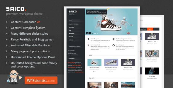 SAICO – Powerful WordPress Theme
