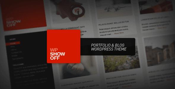 Wp Show Off – Portfolio & Blog WordPress Theme